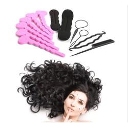 Combo 12 dụng cụ làm tóc