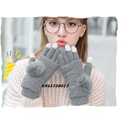 bao tay găng tay len  cảm ứng 3 phong cách