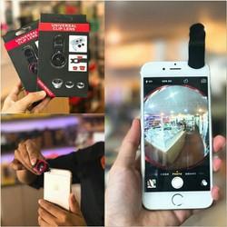 Ống Lens chụp hình cho điện thoại 3 in 1 Universal Clip Lens