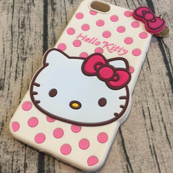 Ốp lưng Iphone 6 plus, 6s plus hình hello kitty.