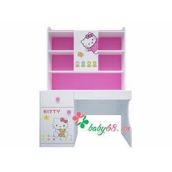 Bàn học trẻ em Hello Kitty BH04