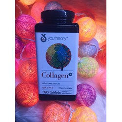 Collagen Advanced - Youtheory™ tuýp 1 2  3 + vitamin C