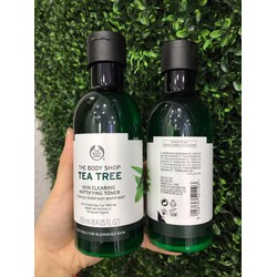 Nước Cân Bằng Da The Body Shop Tea Tree Skin Clearing Mattifying Toner