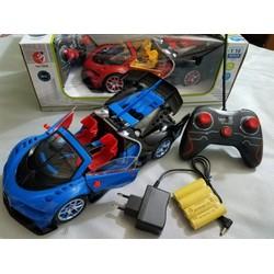 đồ chơi xe lamborghini mui trần điều khiển từ xa mở cửa sạc pin lion