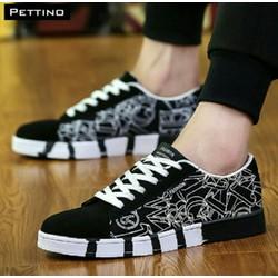 Giày vải Nam chất liệu vải cao cấp bên đẹp