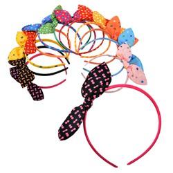 Bộ sưu tập 4 cài tóc có nơ nhiều màu sắc