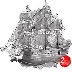 Mô hình kim loại - Tàu người Hà Lan bay