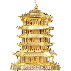 Mô hình kim loại - Hoàng Hạc Lâu