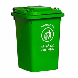 Thùng nhựa đựng rác 60 lít - Không bánh xe