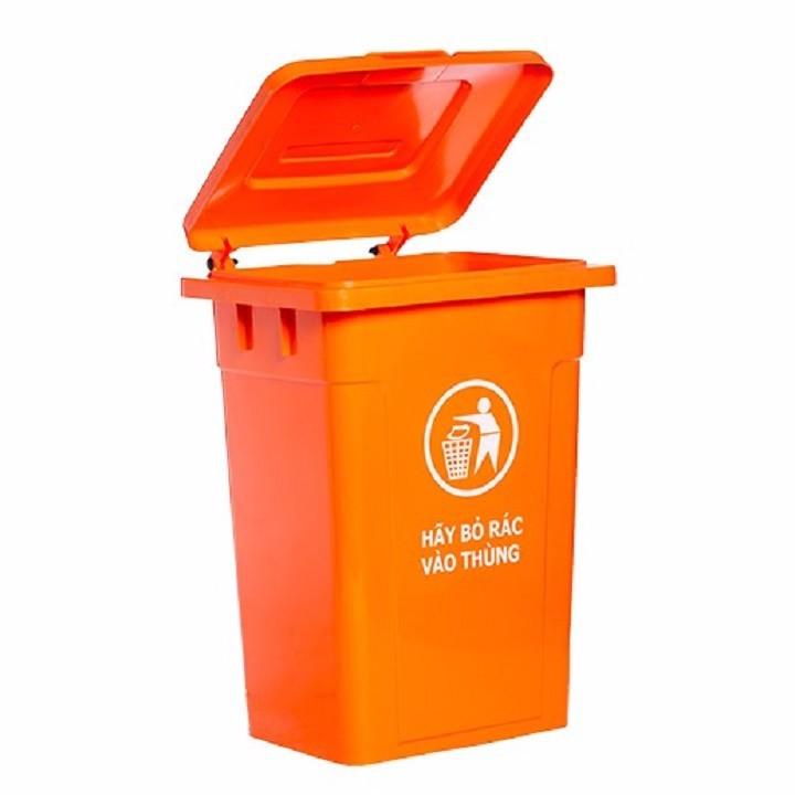 Thùng nhựa đựng rác 60 lít HITA - Không bánh xe 3