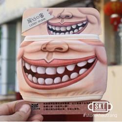 Khẩu Trang 3D Mặt Biến Thái | Khẩu trang 3D độc lạ | Khẩu trang độc