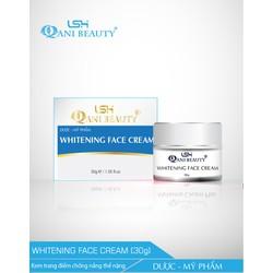 Kem trang điểm chống nắng Qani Beauty  WHITENING FACE CREAM 30g