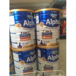 Sữa Alpha 3 dành cho trẻ 1-2 tuổi,số 4 dành cho trẻ từ 2-6 tuổi 900g