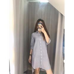 Đầm Suông Sơ Mi Đơn Giản Mà Rất Đẹp