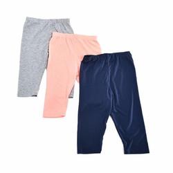 Combo 3 Quần legging thun dài cho bé xuất khẩu