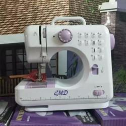 Máy may mini gia đình may mọi loại vải có vắt sổ JYSM 605