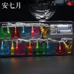 Dây đèn happy birthday trang trí