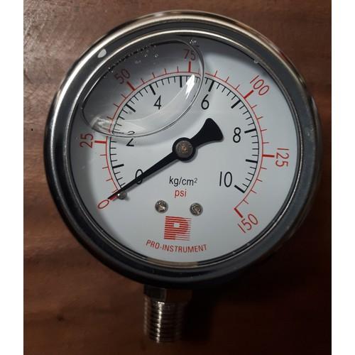 Đồng hồ đo áp suất có dầu 67mm