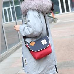 Túi nữ đeo chéo chất vải oxford LEQ 2154 I Túi xách - ví - balo kacana