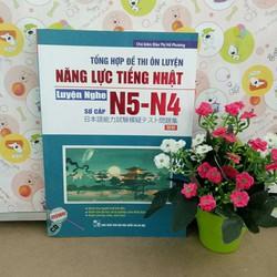 Đề thi ôn luyện năng lực tiếng Nhật N4 và N5 Nghe hiểu – Có tiếng Việt