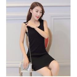 Đầm thun ôm quyến rũ phong cách Hàn Quốc