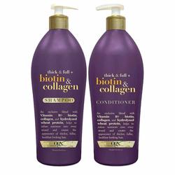 Set dầu gội và xả chống rụng tóc Biotin Collagen 750ml x2