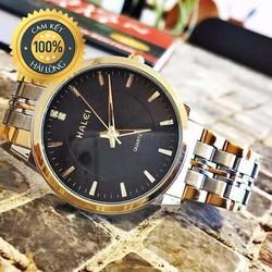 Đồng hồ nam chính hãng Halei dây demi cực đẹp