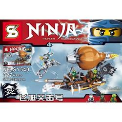 Lego Ninja cuộc tấn công bộ tộc Tsai