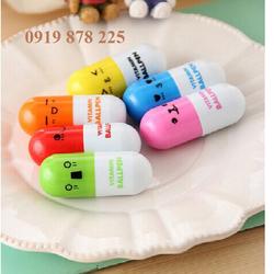 Sỉ - Combo 30 bút bi hình viên thuốc VITAMIN