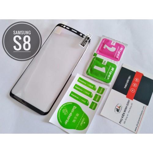 Dán dẻo Full màn viền đen Samsung S8 S8+ Note8