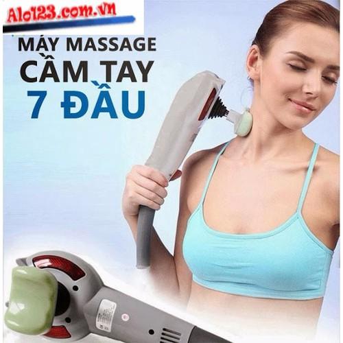 Máy massage toàn thân cầm tay 7 đầu chính hãng - 5095011 , 7502993 , 15_7502993 , 259000 , May-massage-toan-than-cam-tay-7-dau-chinh-hang-15_7502993 , sendo.vn , Máy massage toàn thân cầm tay 7 đầu chính hãng