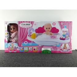 đồ chơi bồn tắm búp bê và phụ kiện - W0182