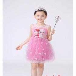 Đầm sát nách công chúa Elsa cá tính CC8922