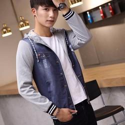 áo khoác tay thun đầu sói Mã: NK1087