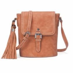 Túi đeo chéo nữ DOODOO POLIBOXMES phong cách vintage