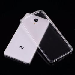 Ốp lưng dẻo silicon trong suốt cho Xiaomi Mi 4
