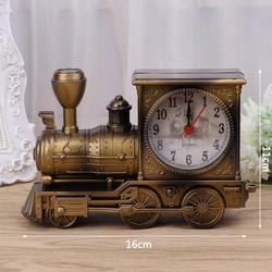 Đồng hồ để bàn xe cổ đầu máy dầu,quà tặng trang trí đồ lưu biệm