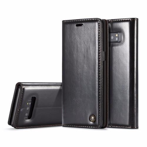 Bao Da CaseMe Galaxy Note 8 Màu Đen