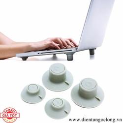 Bộ 4 Chân Đế Tản Nhiệt Laptop Cool Feet Công Nghệ Hàn Quốc