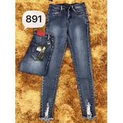 Quần jeans wax lai mẫu mới