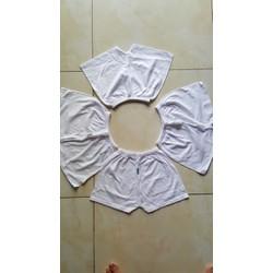 quần ngắn thun cotton hiệu bosini sét 5 quần