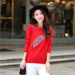 Áo len nữ họa tiết xinh đẹp KT4656