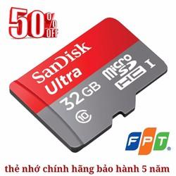 Thẻ nhớ SanDisk chính hãng bảo hành 5 năm