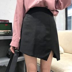 Chân váy chữ A xẻ tà