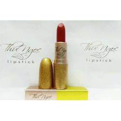 Combo son màu và son dưỡng gấc handmade Thu Ngọc Lipstick