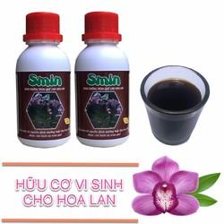Phân bón lá sinh học amino acid Smin cho hoa lan ra hoa 2 chai 100ml