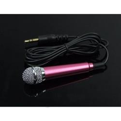 Micro mini hát Karaoke trên điện thoại - Hồng