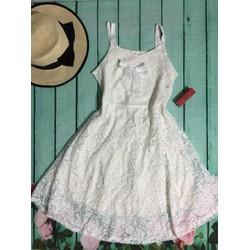Đầm ren đơn giản