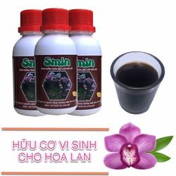 Phân bón lá sinh học amino acid Smin cho hoa lan ra hoa 3 chai 100ml