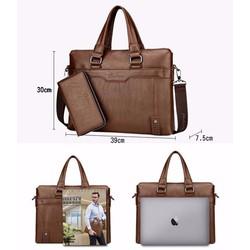 Túi xách nam công sở tặng ví